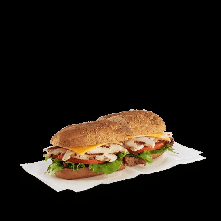 Chilled Grilled Chicken Sub Sandwich