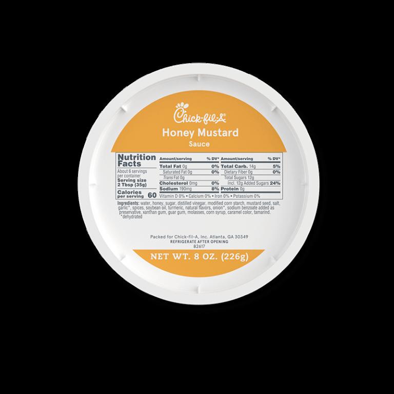 8oz Honey Mustard Sauce