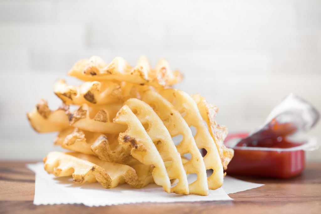 Waffle Potato Fries