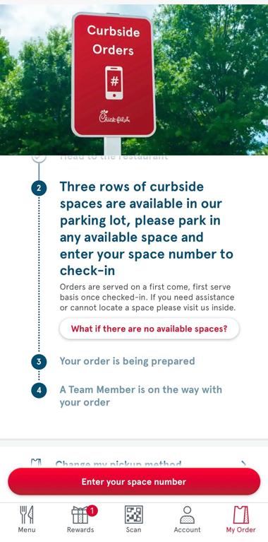 curbside ordering step 2