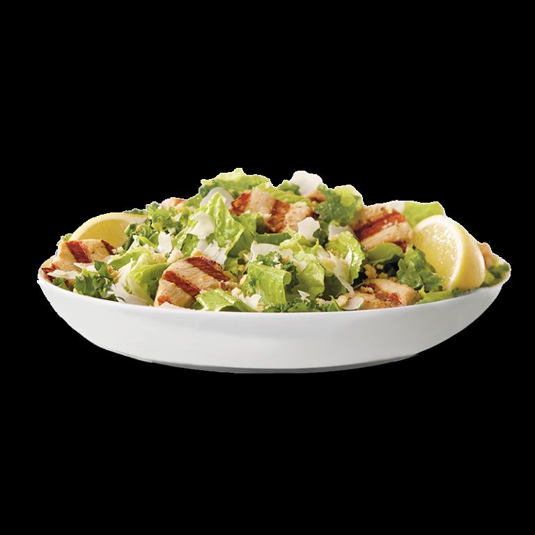 Lemon Kale Caesar Salad w/Grilled Nuggets