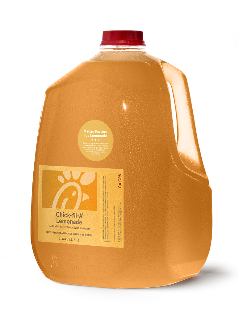 Gallon Mango Passion Tea Lemonade